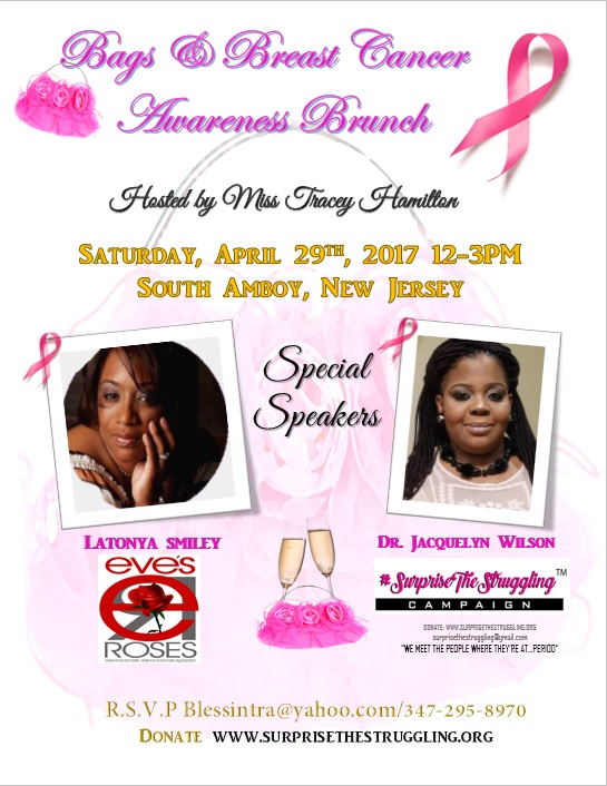 Upcoming Bags & Breast Cancer Awareness Lunch