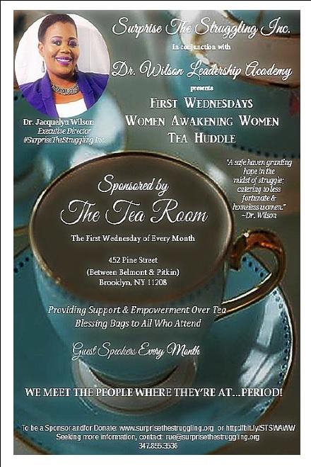 First Wednesdays Women Awakening Women Tea Huddle
